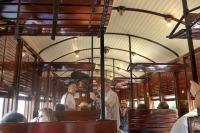 Interior d'un dels cotxes de la sèrie C