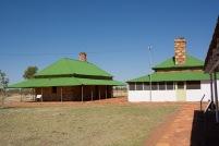 Vista de la vivenda i de l'edifici principal